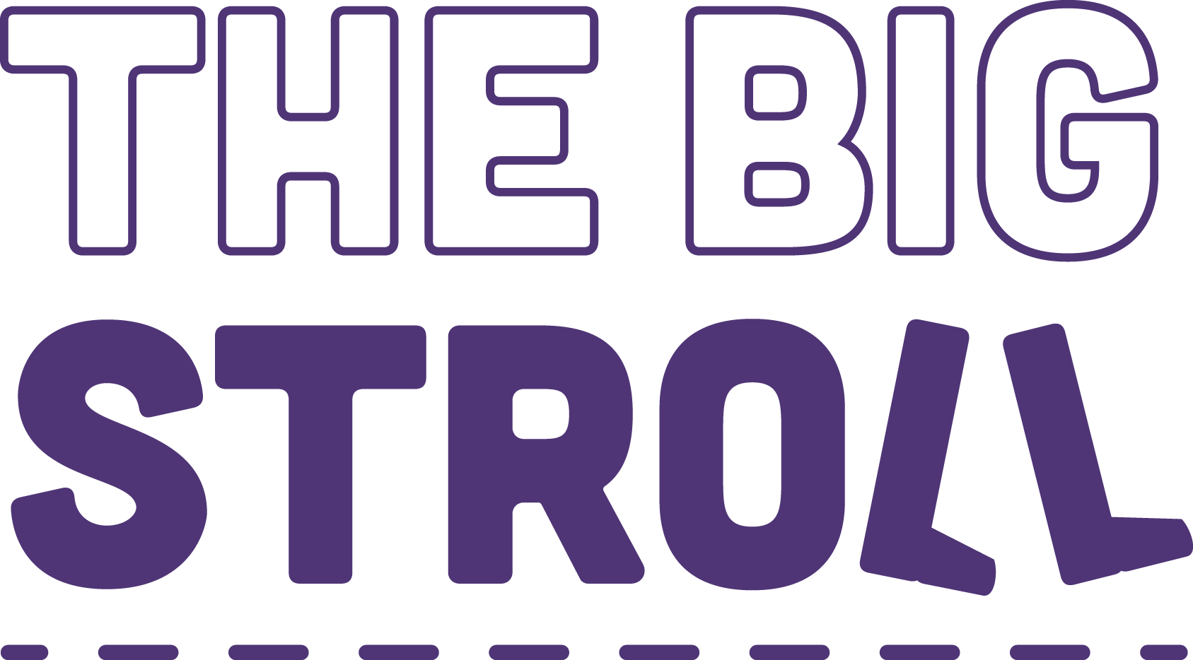 The Big Stroll logo