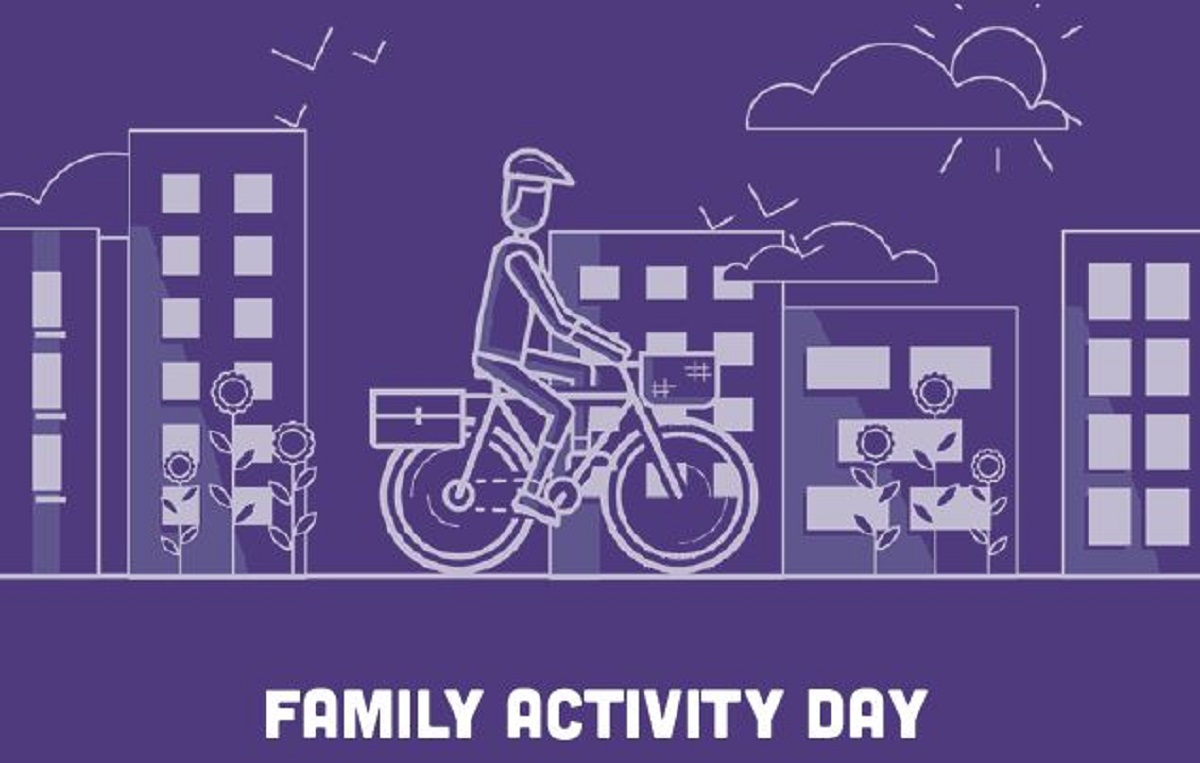 trail map for family activity day